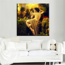 xh1069 high quality canvas prints art naked woman  printed paintings for bedroom decor unframed
