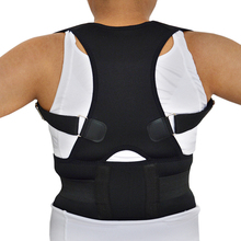 2018 Best Deal Women Posture Lumbar Support Corrector Back Belt Pain Feel Young Belt Brace Shoulder Posture Chest Belt Corset(China)