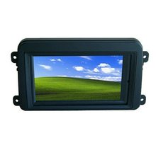 7 Inch Double DIN Touch Screen VGA Monitor With GOLF Frame for Car PC(China)