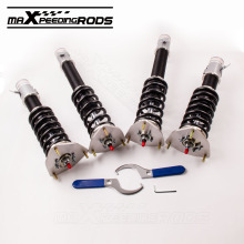 For Subaru Impreza WRX GDB Forester 03-08 SG 24 Ways Adjustable Damper Coilovers Blobeye Bugeye Coilover Suspension Shock Strut