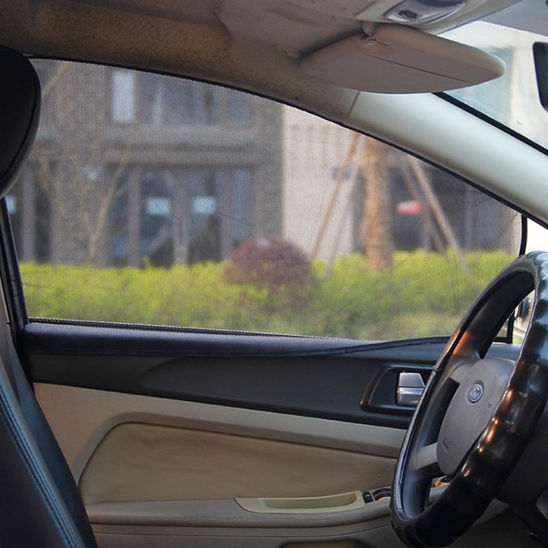 SOOTOP Parasole Magnetico per Auto Tende Magnetiche per Auto con Protezione Solare Finestrino per Auto Parasole per Finestrini Laterali in Rete Visiera Parasole per Protezione Estiva