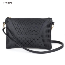 Buy 2017 Small Casual women messenger bags PU hollow crossbody bags ladies shoulder purse handbags bolsas feminina for $5.25 in AliExpress store