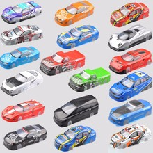 1pcs 190mm Body Shell PVC 1:10 RC Model Car PVC Body Shell+Rear Wing 1/10 RC Model Racing Car Model Accessories