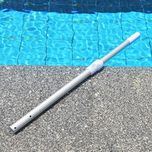 2*1.2m Swimming pool lifebelts rod retractable pole net rod clean pool telescopic pole(China)