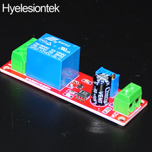 NE555 DC 12V Delay Relay Shield NE555 Timer Switch Board Adjustable Module 0~10S Oscillator Integrated Circuits Switcher(China)