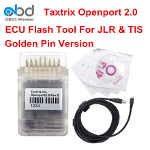 High Quality Tactrix Openport Cable ECUFLASH 2.0 Full Software Version OBD2 Diagnostic Scanner For TIS For Jaguar For Land Rover(China)