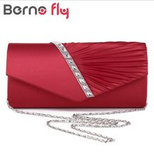 Fashion Rhinestone Three-dimensional Twill Velvet Crystal Clutch Bags Clutches Purse Rhinestones Wedding Handbags Evening Bag