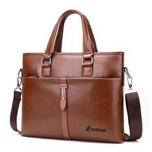 Brand Bag Men Briefcase Leather Laptop Tote Bags Business Man Crossbody Bag Men's Messenger Mens Travel Briefcases Bags