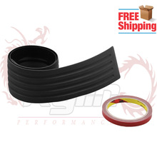 Free Shipping Car Trunk Bumper Trim Rear Guard Plate Modified Protective Strip For Mazda For Subaru For Most Car OT152