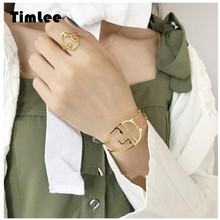 Timlee B013 Fashion Concise Human Face Abstract Outline Smiley Face Bangles/Ring,Jewelry Wholesale(China)