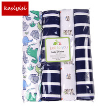 Free Shipping! 4pcs/lot Soft Cotton Flannel Baby Blanket Receiving Newborn Colorful Cobertor Baby Bedsheet 102X76cm TRQ0013(China)