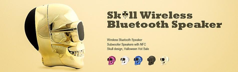 Skull Bluetooth Spekaer