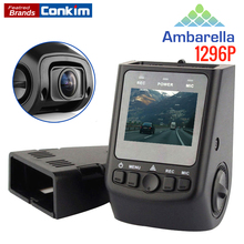 "X40 Auto Camera Ambarella A7 1296P Car DVR GPS 1080P Full HD 1.5"" LCD Super Capacitor Detector Better Than A118C B40 Dash Camera"