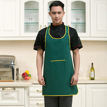 High quality Hanging neck chef aprons hotel uniform chef uniform restaurant aprons cook uniform chef working wear Food Service