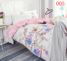 Beige Purple 1Pcs Cotton Twin Full Queen King Single Bed Duvet Cover Double Bed Comforter Cover Bedroom quilt cover Bedding Home(China)