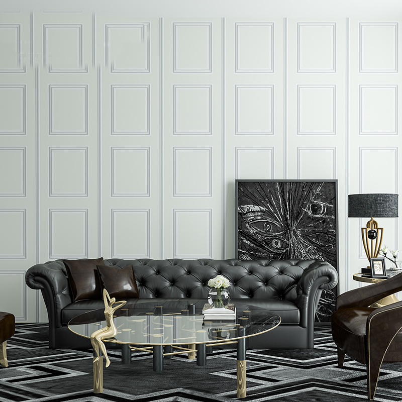 Quality Modern wall panel 3d Photo Wallpaper Rolls for Living Room Wood Board Wall paper 3d Wallcoverings<br>