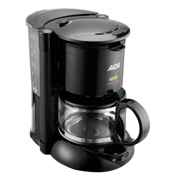 High-quality cafe American Electric Coffee Maker Black Drip Coffee Machine <br><br>Aliexpress