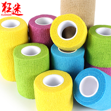 6pcs/lot 2' X 5 Y Waterproof elastic self adhesive bandages sport safety ankle wrap(China)