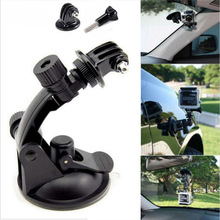 Buy Car Sucker Cup Adapter Glass Mount Holder Tripod Gopro Hero 5 4 3 2 Sjcam Sj4000 Xiaomi Yi Sport Action Camera Accessories for $3.79 in AliExpress store