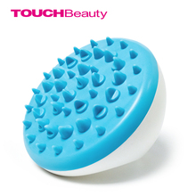 TOUCHBeauty Blue Cellulite Body Massager Ventouses Cellulite Massage Brush Soft Glove Slimming Relaxing Scrub TB-0826B-b(China)