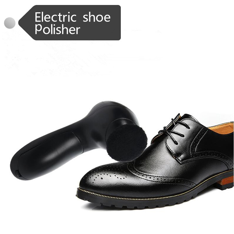 mini household electric shoes polisher hand-held portable Leather Polishing Equipment automatic clean machine<br>