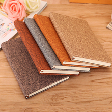 A5 Bussiness Travel Notebook Vintage Leather Notebook Diary Filofax Planner Agenda Stationery School Supply Accept Customized(China)