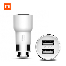 Original Xiaomi ROIDMI Car Charger Bluetooth 4.0 FM Transmitter 5V 2.1A Quick Car Charger Adapter Music Playing FM Radio BFQ01RM