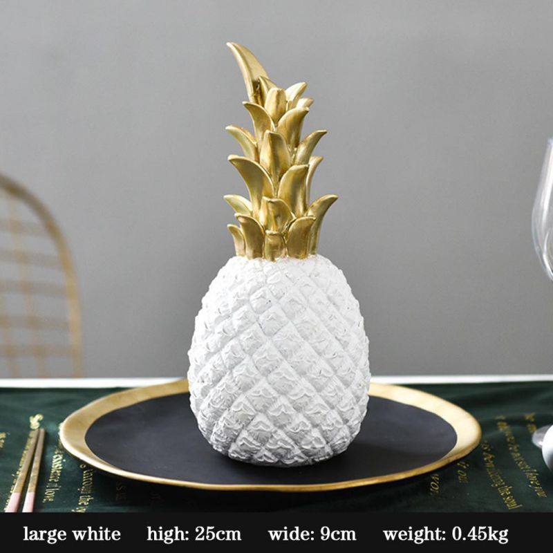 Original Nordic Modern Pineapple Fruits Living Room Wine Cabinet Window Desktop Home Decoration Furnishing Prop Accessories 11