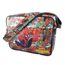 Wholesale Spider Man Iron Man Captain America /Thor/Superman/flash/Simpson Shoulder Bags Handbags Small bag Messenger Bags