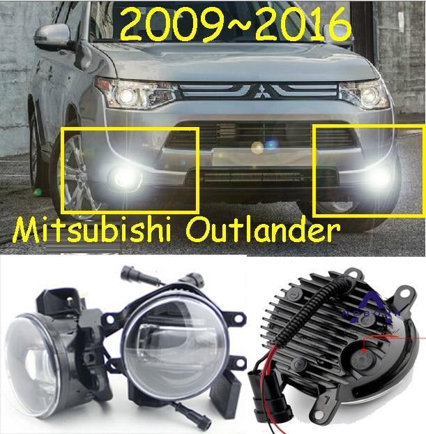 Outlander light,Outlander fog light,2pcs,LED,Outlander day light,Free ship! Outlander Fog lamp,2009~2016,Outlander headlight<br>