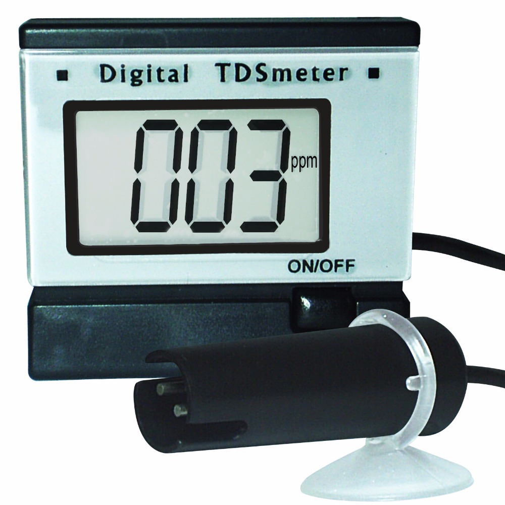 Portable Digital Total Dissolve Solids TDS Meter Measurement Tester Aquarium Water + Power adaptor + 0~1999 PPm (mg/L) Range<br>