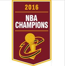 3x5ft 2016 basketball cleveland champions flag 90x150cm polyester Custom banner with 2 Metal Grommets