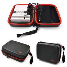 New For Mini NES Classic Edition Console Balck Hard Carrying Case Travel Storage Bag for Nintendo for NES Classic Game Accessory(China)
