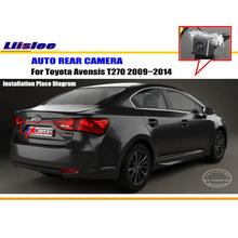 Liislee Car Rear Camera For Toyota Avensis T270 2009~2014 / Back Parking Camera / HD CCD RCA NTST PAL / Reverse Hole OEM