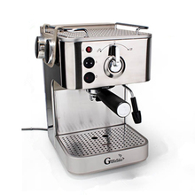 Household Stainless Steel Italian Espresso Milk Froth Latte Cappuccino Coffee Maker Machine
