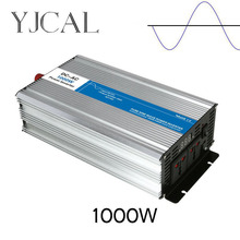 Pure Sine Wave Inverter 1200W Watt DC 12V To AC 220V Home Power Converter Frequency USB Converter Electric Power Supply(China)