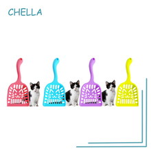 Pet Litter Plastic Shovel Thickened Large Cat Toilet Cleaning Shovel Candy Color Litter Shovel