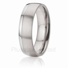 high quality anel masculino Beautiful Design Choices Shop Securely Online gift for men titanium wedding band rings(China)