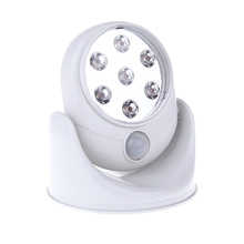 New Arrival LED Light Angel as Seen on TV Motion Activated Cordless Light Base Rotates 360 PIR Motion Sensor Night Spot Lamps