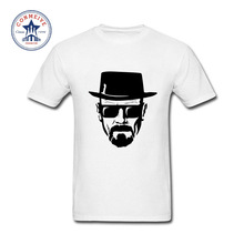 2017 Fashion New Gift Tee Heisenbergs Breaking Bad Cotton Funny T Shirt for men(China)