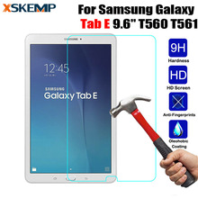 "For Samsung Galaxy Tab E 9.6"" SM-T560 / T561 Glossy 2.5D Arc Edge Anti-Shatter Tempered Glass Shockproof Screen Protector Film(China)"
