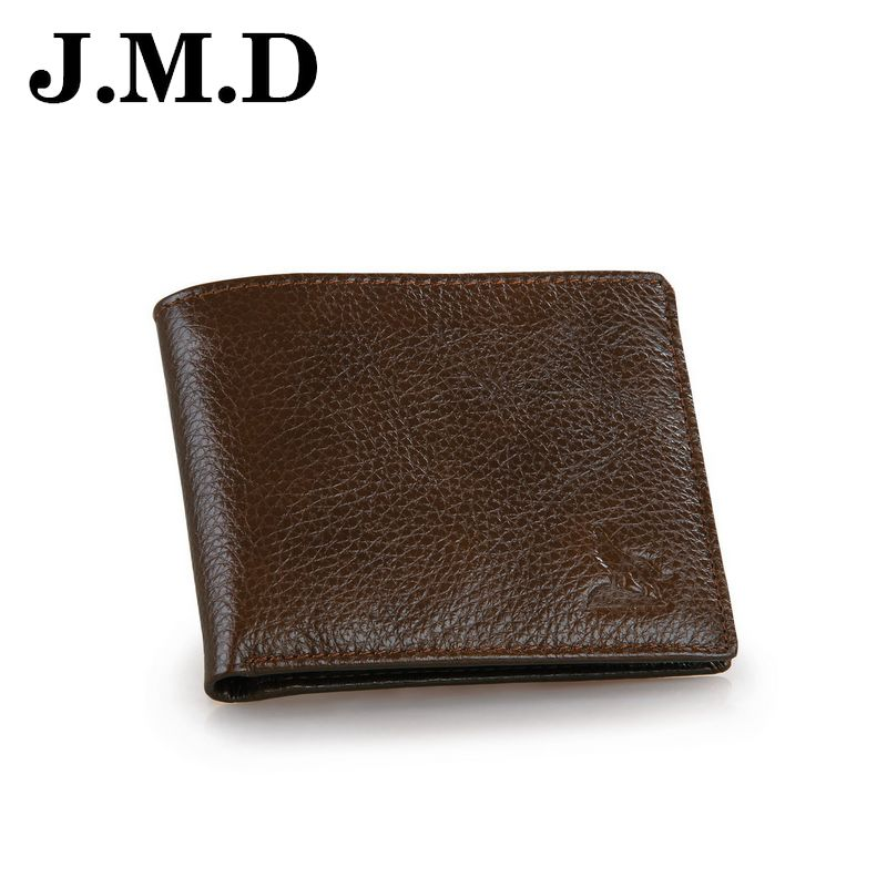 JMD 2017 Hot Sale Brand Genuine Leather Men Short Wallets Retro Card Photo Cion Purse High Quality Male Clutch  Bags JD063<br><br>Aliexpress