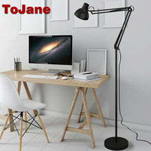 ToJane Modern Stand Floor Lamp TG610-S Simple Floor Lamps For Living Room Folding Standing Lamp Lambader Stehlampe(China)