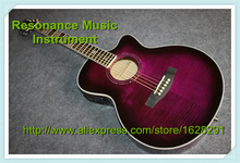 Custom Shop Acoustic Guitars China & Left Handed Custom Inlay & Headstock Available(China)