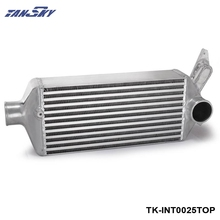 TANSKY - T-6061 Full Aluminum Racing Turbo Cooler Turbo Intercooler For 08-14 WRX EJ25 GH GRB GEE TK-INT0025TOP