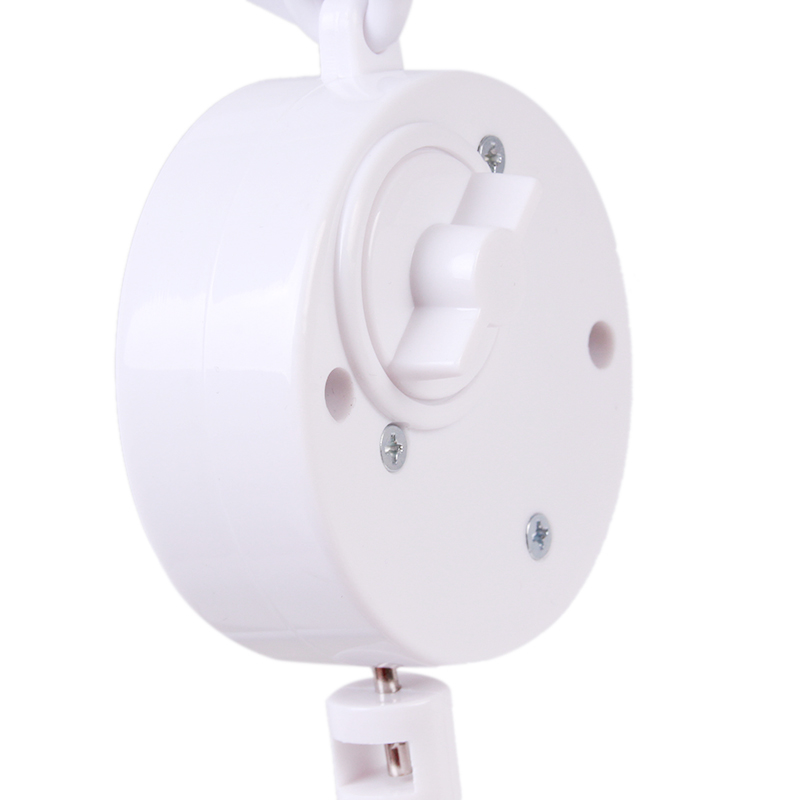 Baby toys White Rattles Bracket Set Baby Crib Mobile Bed Bell Toy Holder Arm Bracket Wind-up lullaby Music Box  Free Shipping