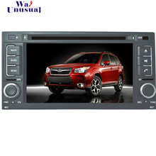 Free Shipping 2016 Top Wince Car Multimedia System DVD Player Video For Subaru Forester 2008-2013 With GPS Navi BT Free Map