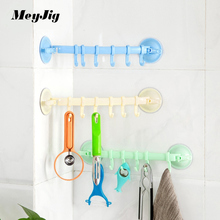 Powerful Suction Cup Hook Storage Rack Organizer Bathroom Wall Seamless Nail-free Hook Kitchen Creative Wall Hanging Hook