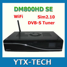 1pcs satellite receiver DM 800 hd se dm 800hd se wifi sim2.10 Linux Enigma 2 400mhz Rev D11 set top box dm800 se DHL Free(China)