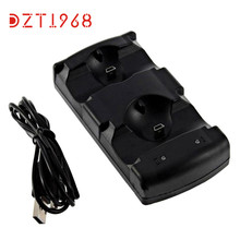 Best Price ! HOT Replace USB 2in1 Dual Charger Charging Dock Station Stand for PS3 Controller High Quality 2DEC21